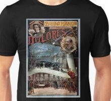 Performing Arts Posters Bolossy Kiralfys grand Parisian production Dolores by Victorien Sardou 1963 Unisex T-Shirt