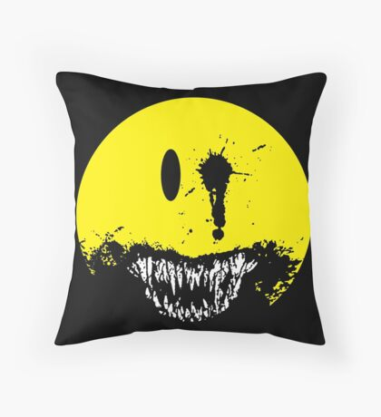 first we eat the rich Throw Pillow