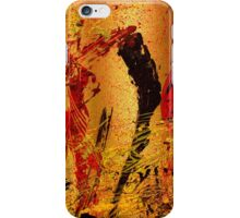 party at the hockey match iPhone Case/Skin