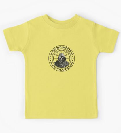 Anonymous Revolution Kids Tee