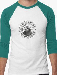 Anonymous Revolution Men's Baseball ¾ T-Shirt