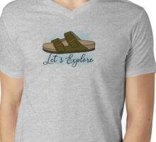 Let's explore Birkenstocks  Mens V-Neck T-Shirt