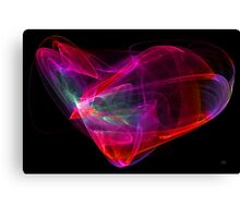 The Glass Heart Canvas Print