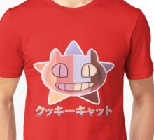Steven Universe inspired Cookie Cat (rainbow + star vers. number 2) Unisex T-Shirt