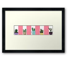Cacti Are Cool Framed Print