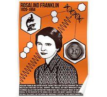 Illustrating Great Minds - Rosalind Franklin Poster