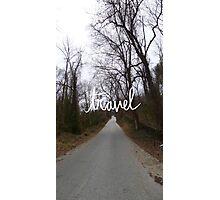 Travel path Photographic Print
