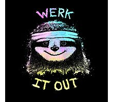 Werk It Out Photographic Print