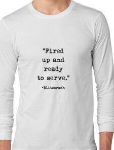 Blitzcrank Quote Long Sleeve T-Shirt