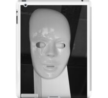 White face by Darryl Kravitz iPad Case/Skin
