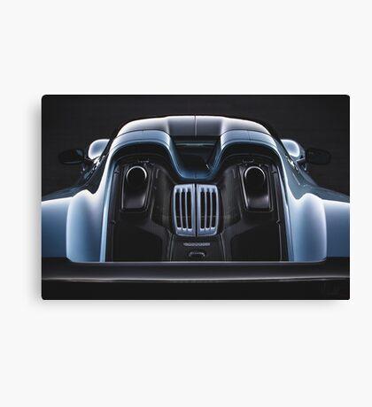 Liquid Metal - Porsche 918. Canvas Print