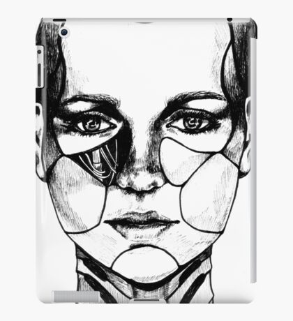 Cyber Girl iPad Case/Skin
