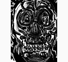 Skull drawing -(151215)- iPad/Zen brush App. Unisex T-Shirt