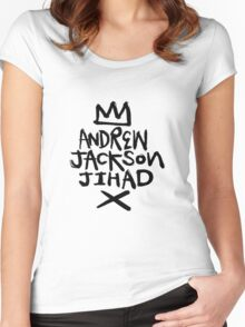 Andrew Jackson Jihad - Crown Women's Fitted Scoop T-Shirt