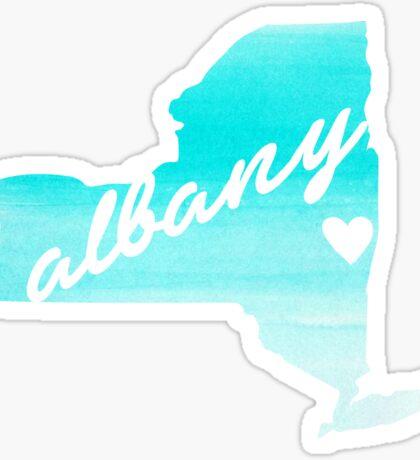 Albany Sticker