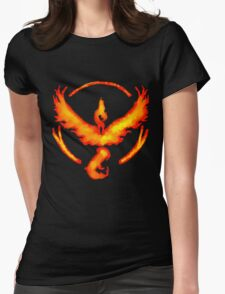 Team Valor- Pokemon Go Womens Fitted T-Shirt