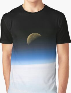 Moonrise from orbit Graphic T-Shirt
