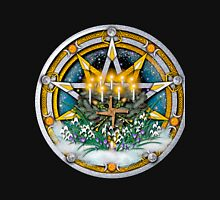 Sabbat Pentacle for Imbolc, First Signs of Spring Unisex T-Shirt