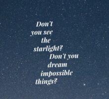 """""""Starlight"""" 3 Sticker"""