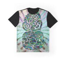 Paua Tiki Graphic T-Shirt