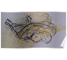 life drawing 03.07.14 Poster