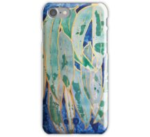 Green and Gold Abstract iPhone Case/Skin
