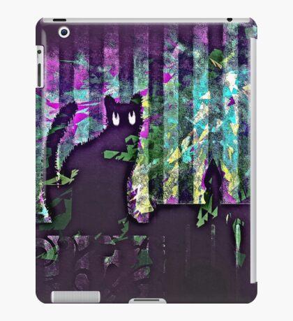 cat relief iPad Case/Skin