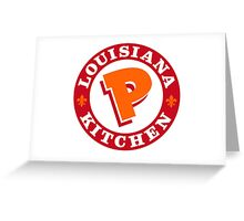 Popeyes Greeting Card