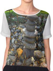 Rock Garden Chiffon Top