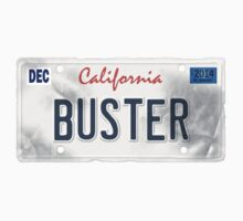 License Plate - BUSTER by TswizzleEG