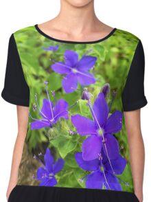 Speedwell Flower Chiffon Top
