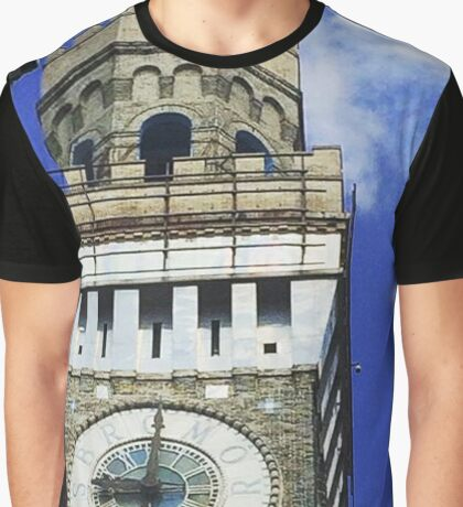 Baltimore Clocktower Graphic T-Shirt