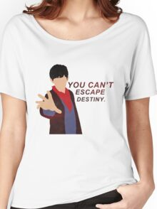 MERLIN [ YOU CAN'T ESCAPE DESTINY ] Women's Relaxed Fit T-Shirt