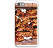 Ribs and sausage cooked to perfection iPhone Case/Skin