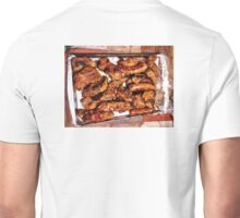 Ribs and sausage cooked to perfection Unisex T-Shirt