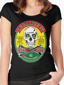 LEGALIZE IT Women's Fitted Scoop T-Shirt