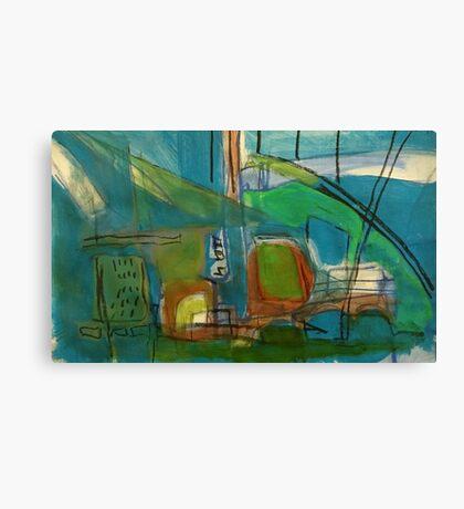 bright port Canvas Print