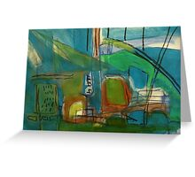bright port Greeting Card
