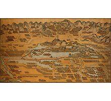 Map Of Peking 1888 Photographic Print