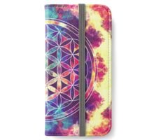 Flower Of Life 02 iPhone Wallet/Case/Skin
