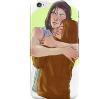 Sirius and Mystery girl iPhone Case/Skin