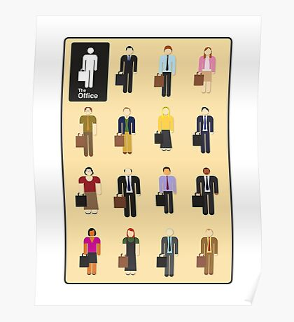 The Office Characters Poster