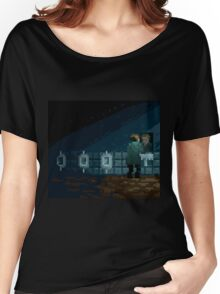 James Sunderland Pixel Art Tribute Women's Relaxed Fit T-Shirt