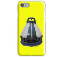 Ford Mustang (white/green) iPhone Case/Skin