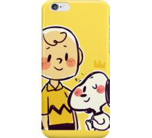 Dog's best friend iPhone Case/Skin