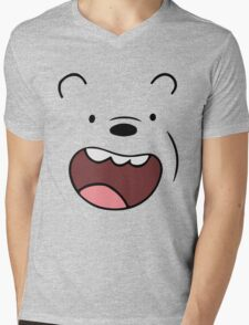 Bears Grizzly Mens V-Neck T-Shirt