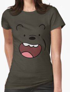 Bears Grizzly Womens Fitted T-Shirt