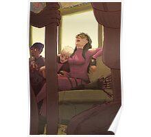 Sleepy Train Poster