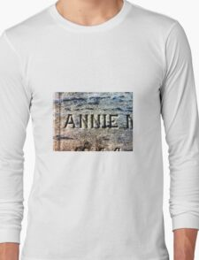 The Headstone of Annie Long Sleeve T-Shirt