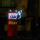 Mail box robot by Sarah Dean